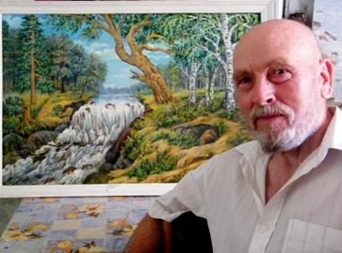 Белореченск, художник Забурунов Г.А.