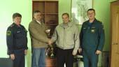Белореченск, Награждение ветеранов противопожарной службы