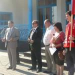 Белореченск, Великовечное, митинг