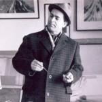 В.Мехед в мастерской
