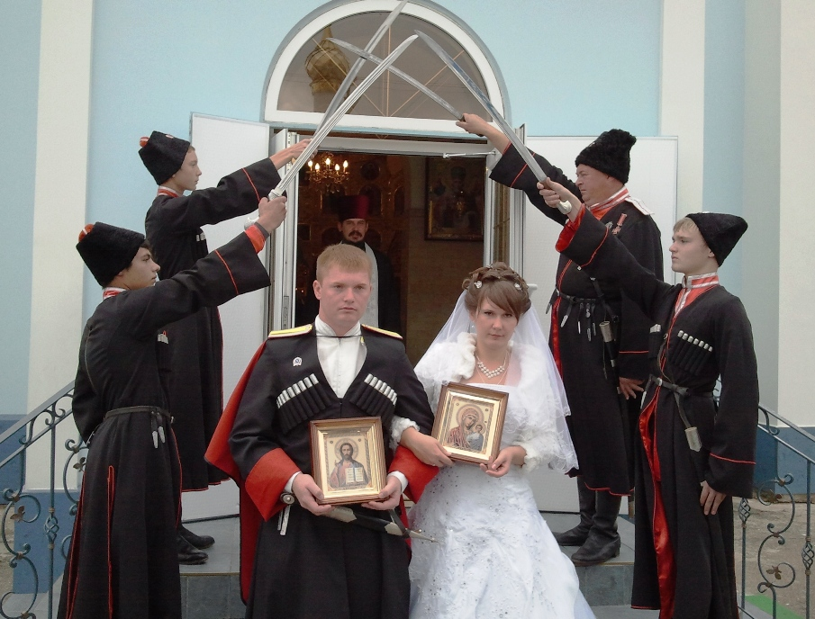 Белореченск, Казачья свадьба