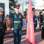 Белореченск, митинг памяти посвященный освобождению