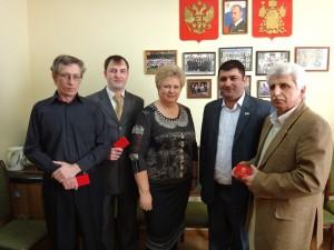 Белореченск, вручение удостоверений помощника депутата от ЛДПР