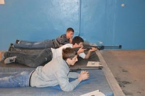 Белореченск, студенческие соревнования по стрельбе