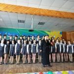 Белореченск,  «Поющая Кубань», старший хор школы №2