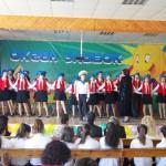 Белореченск,  «Поющая Кубань» , старший хор гимназии