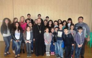 Наш гость - настоятель Армянской Апостольской церкви