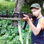 Белореченск, поход в горы казачьей молодежи