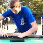 Соревнования казачьей молодежи