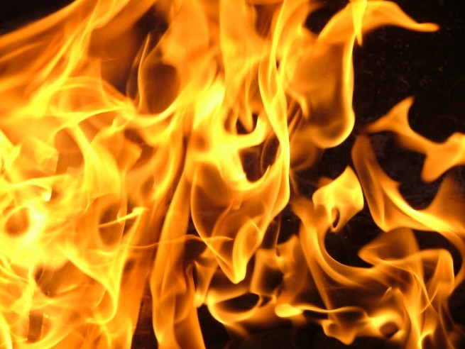 В Белореченском районе произошел пожар из-за перекала печи