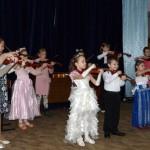 Белореченск, в школе №68 состоялся большой концерт