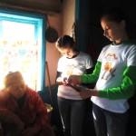 Белореченск, Экологическое содружество, школьники помогают ветерану