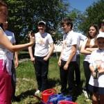 Белореченк, 68 школа, яблоневую аллею подкормили