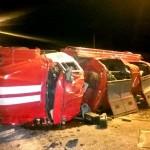 Белореченск, авария с участием пожарной машины