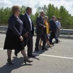 Белореченский район, открыт новый мост через Пшеху