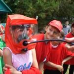 Белореченск, В летнем лагере отдыха «Олимпиец» прошли состязания по пожарной безопасности  «Скажем НЕТ пожару!»