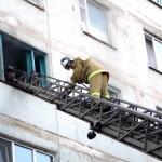 Белореченск, пожар в многоэтажке
