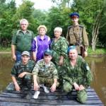 Белореченск, Партизанскими тропами – к месту крушения самолёта
