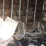 Белореченск, Южный, пожар в жилом доме