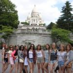"""Белореченск, группа """"Тараторки"""" в Париже"""