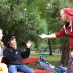Белореченск, съемки клипа