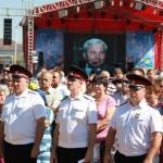 Белореченск, на открытие бюста Кондратенко Н.И.