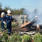 Белореченск, 31 июля в п. Верхневеденеевском, СОТ «Пищевик», произошло возгорание жилого домовладения