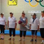 Белореченск, спортивный конкурс среди  клубов  для  граждан пожилого возраста