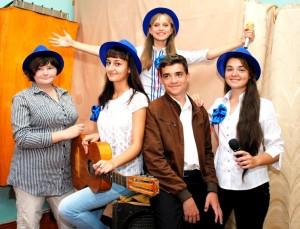 Белореченск, Великовечное, участники вокальной группы эстрадного пения «Класс!»