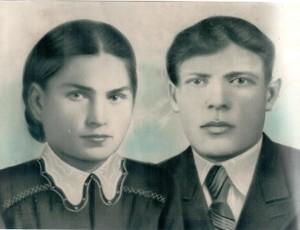 Лаврентий Капитонович с женой Евдокией Федоровной