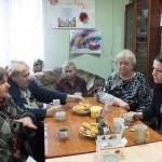 Белореченск, В праздничный день общество инвалидов  посетили представители   компании  «Кубань-Ти»