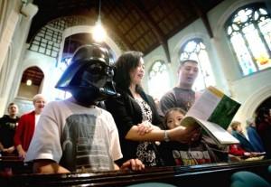Звездные войны в церкви