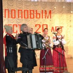 Белореченск, руководитель народного ансамбля «Казачье братство» Владимир Алексеевич Попов