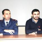 Олимпийский чемпион по дзюдо Арсен Галстян  встретился с воспитанниками Белореченской ВК