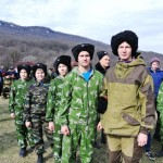 Молодежные казачьи игры Майкопского Казачьего Отдела