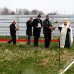 Белореченск, освящение строительства