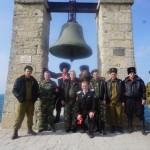 Белореченские казаки в Крыму