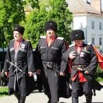 Парад казаков - 25 леот реабилитации казачества