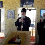 Белореченск, Митрополит Екатеринодарский и Кубанский Исидор побывал в сгоревшем храме в Пшехской