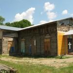 Начало восстановления храма
