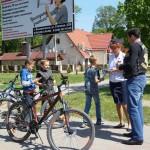 Белореченск. мотоциклисты на рейде с ГИБДД