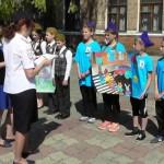 Белореченск, конкурс юных инспекторов движения