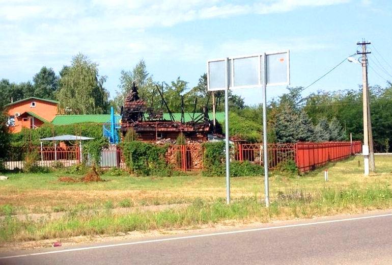В Пшехской сгорела баня