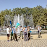 Белореченск, День Десантника