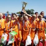 Белореченск, чемпионы дворовых футбольных команд