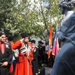 Белореченск, открытие памятника сотнику Пономареву