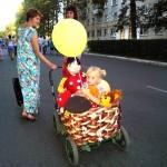 Белореченск, парад колясок 2016