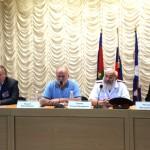 Белореченск, встреча кандидата Затулина с казаками и общественниками