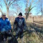 Белореченский Совет втеранов организовал и провёл субботник на территории старого кладбища