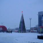 Белореченск, Новый год, открытие елки